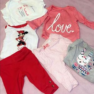 Newborn girls carter outfits